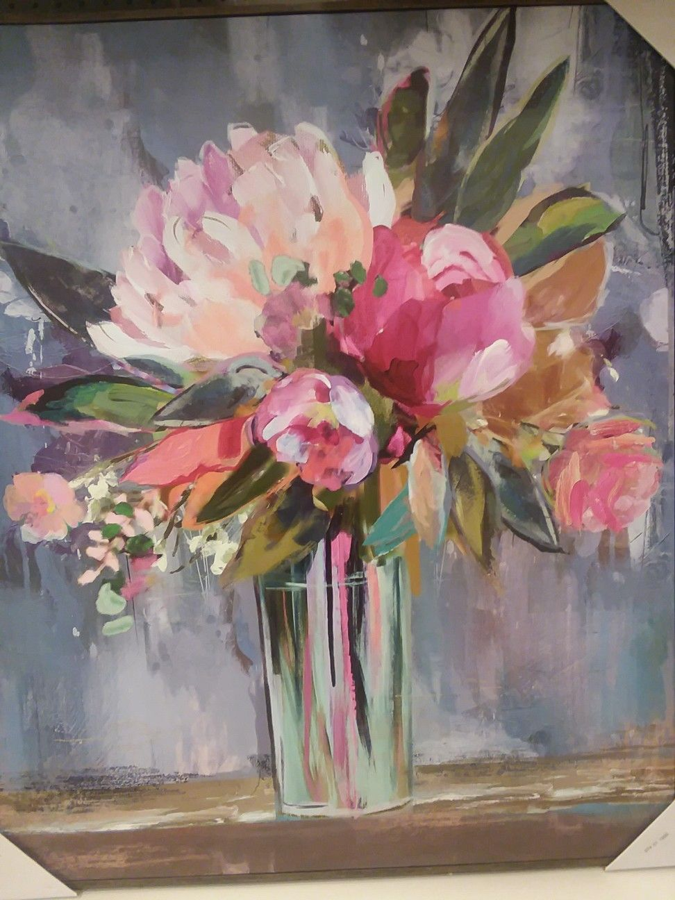 d1c6e9518 A beautiful painting of some flowers in a vase. | Drawings in 2019 ...