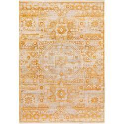 Photo of benuta Trends Teppich Safira Gelb 200×285 cm – Vintage Teppich im Used-Look