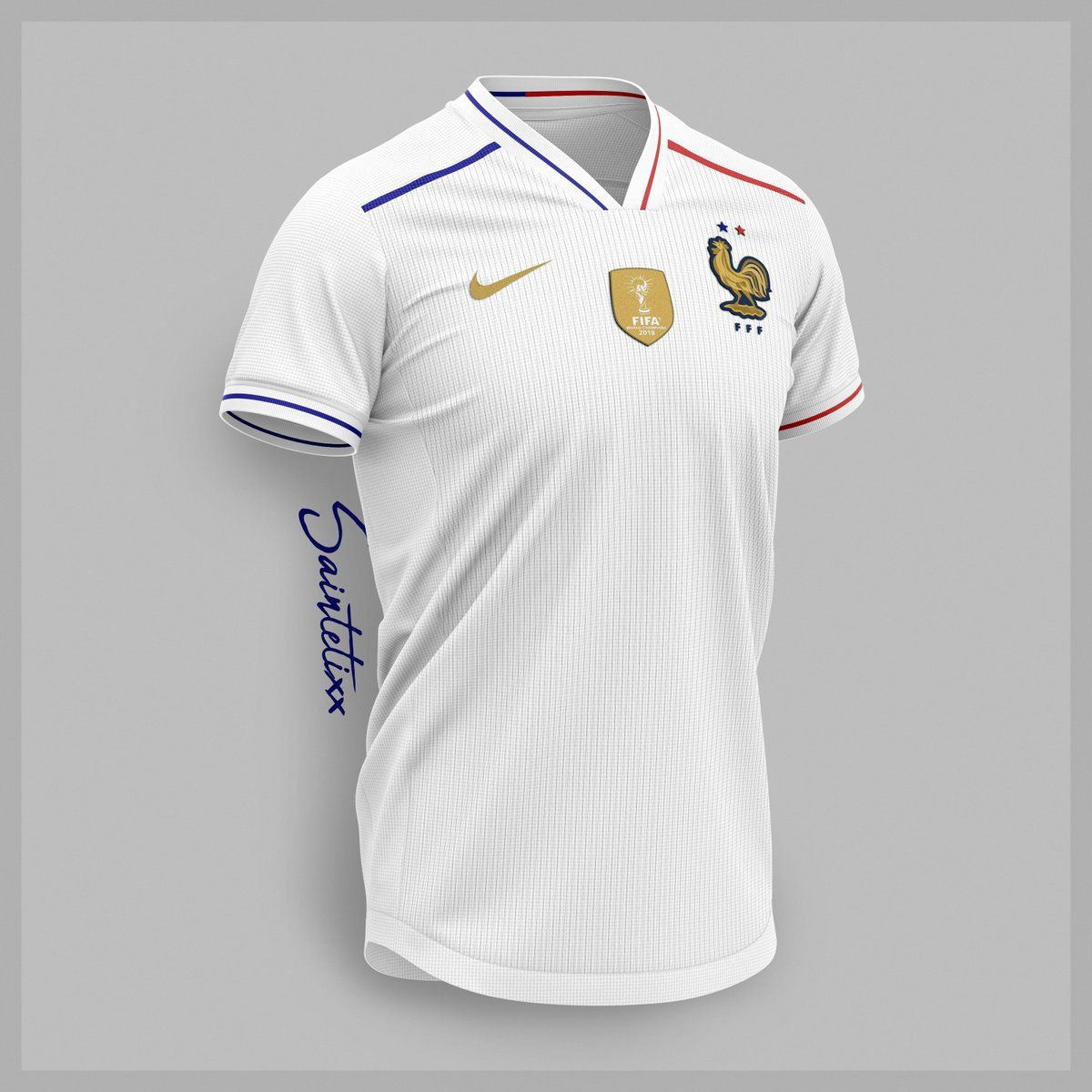 quality design 80a42 915ac Stunning Nike France 2019 Concept Kits By Saintetixx - Footy ...