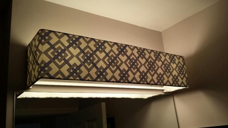 Goodlooking Custom Lamp Shades Fabric Light Covers Bathroom Vanity