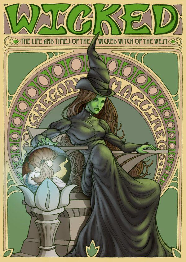 ✯ Wicked Witch .. By ~ArtNerdEm✯