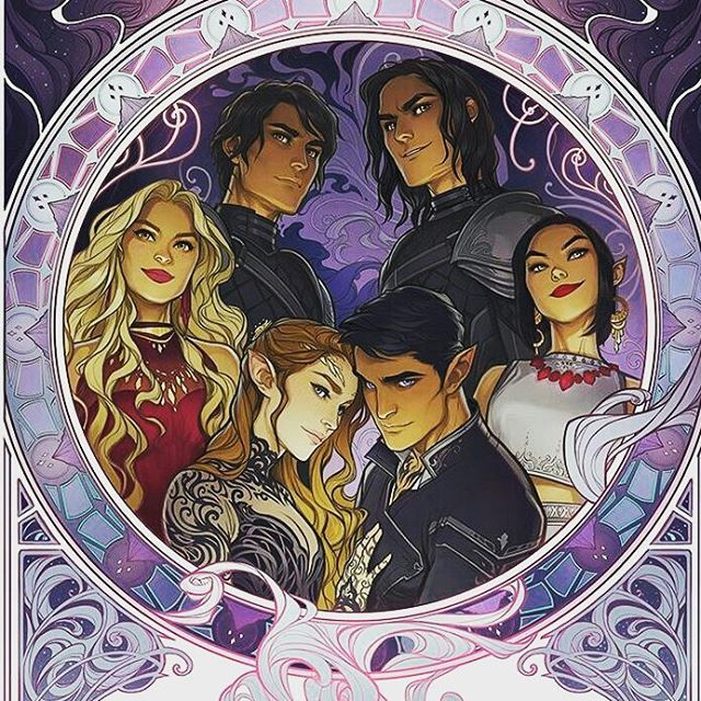 Charlie Bowater Has The Best Fanart The Inner Circle Azriel