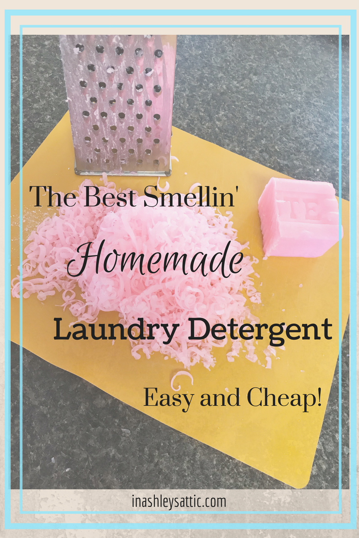 Homemade Laundry Detergent That Last For Months For Less