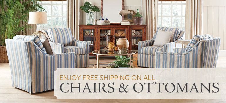 Chairs & Ottomans - Category: Accent Chairs, Ottomans, Indoor Chaise Lounges, Brand: Birch Lane   Birch Lane
