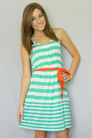 Casual Cruise Sundress (Mint)