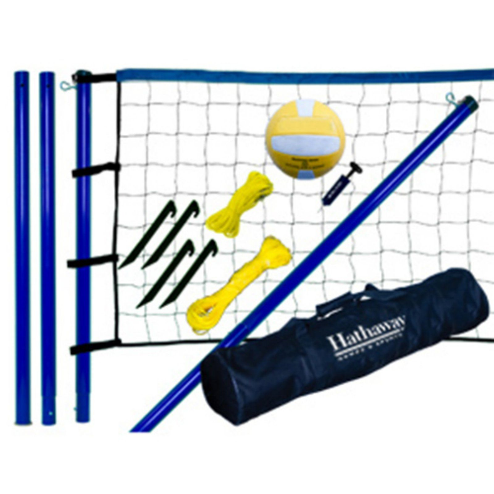 Hathaway Portable Volleyball Game Set Volleyball Set Outdoor Volleyball Net Volleyball