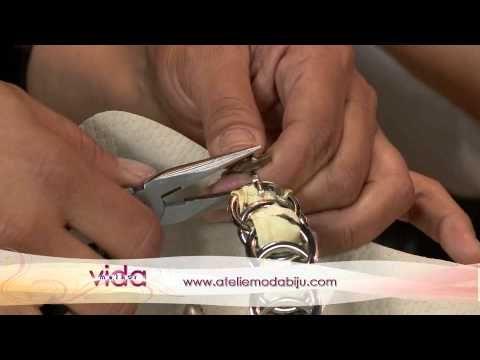 Customização de chinelo com fitas e pedraria - YouTube