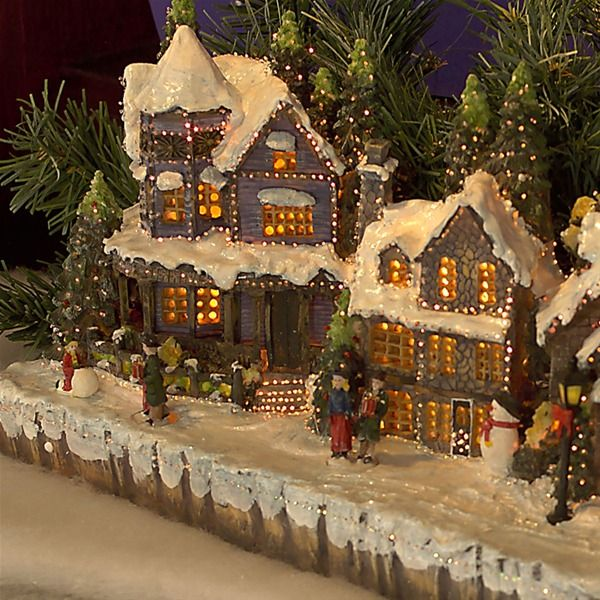 Gingerbread House Outdoor Lights