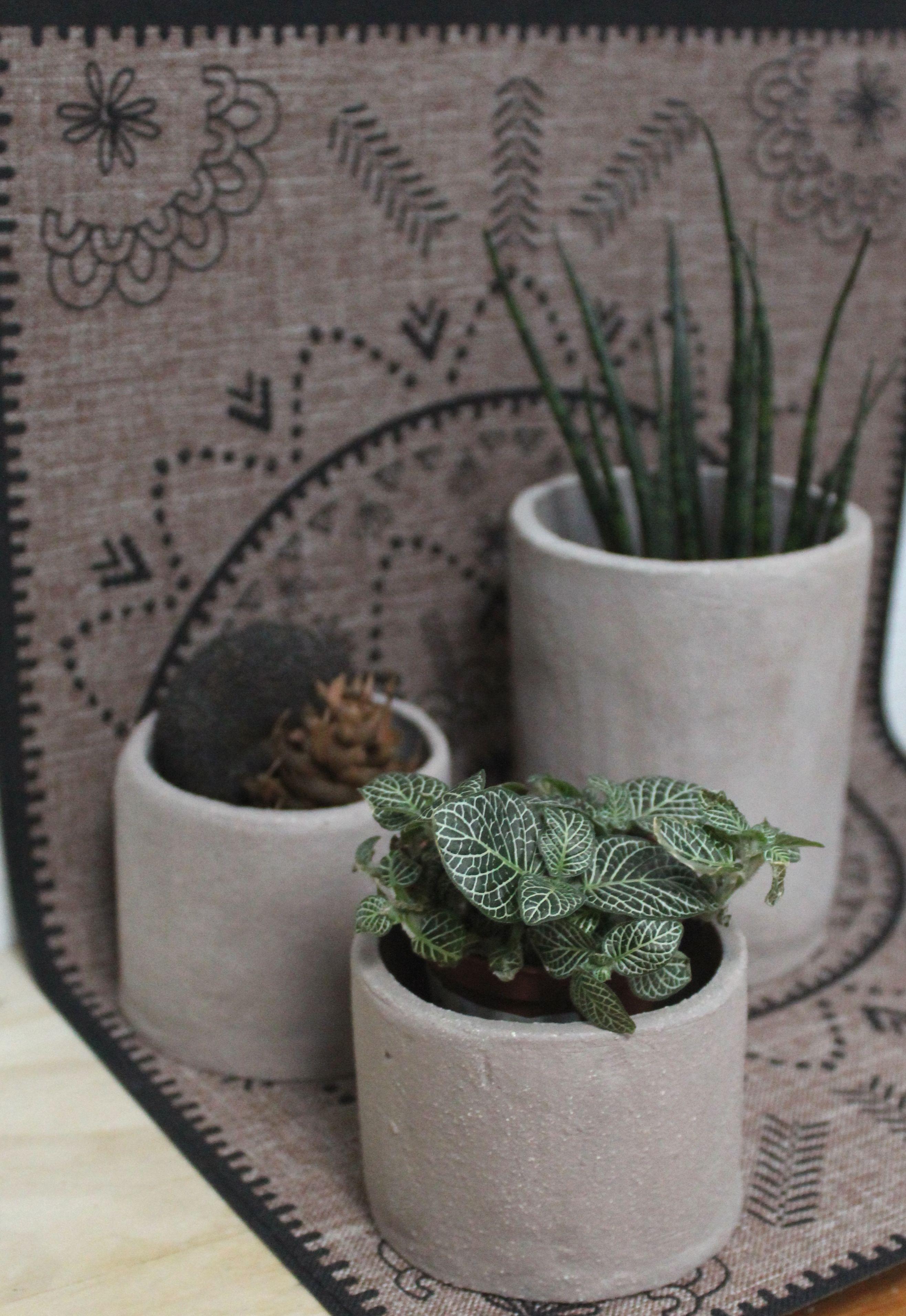 Pot de fleur en ceramique fait main. Pour obtenir la
