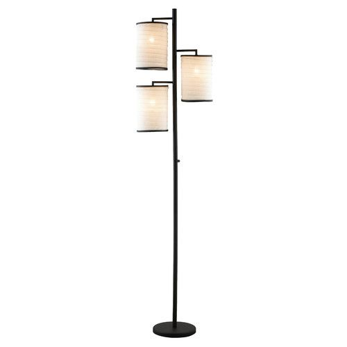 "3 Light Floor Lamp Simple Found It At Wayfair  Baysinger 74"" 3 Light Floor Lamp  Home Design Ideas"