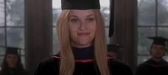 reese witherspoon graduation speech in legally blonde