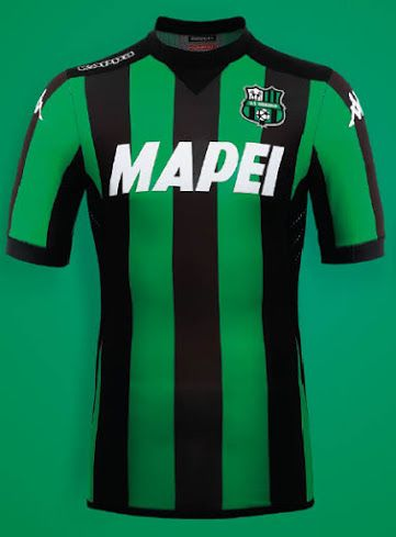 Sassuolo Calcio 15-16 Kits Released Camisetas De Futebol 5f392ea70088e