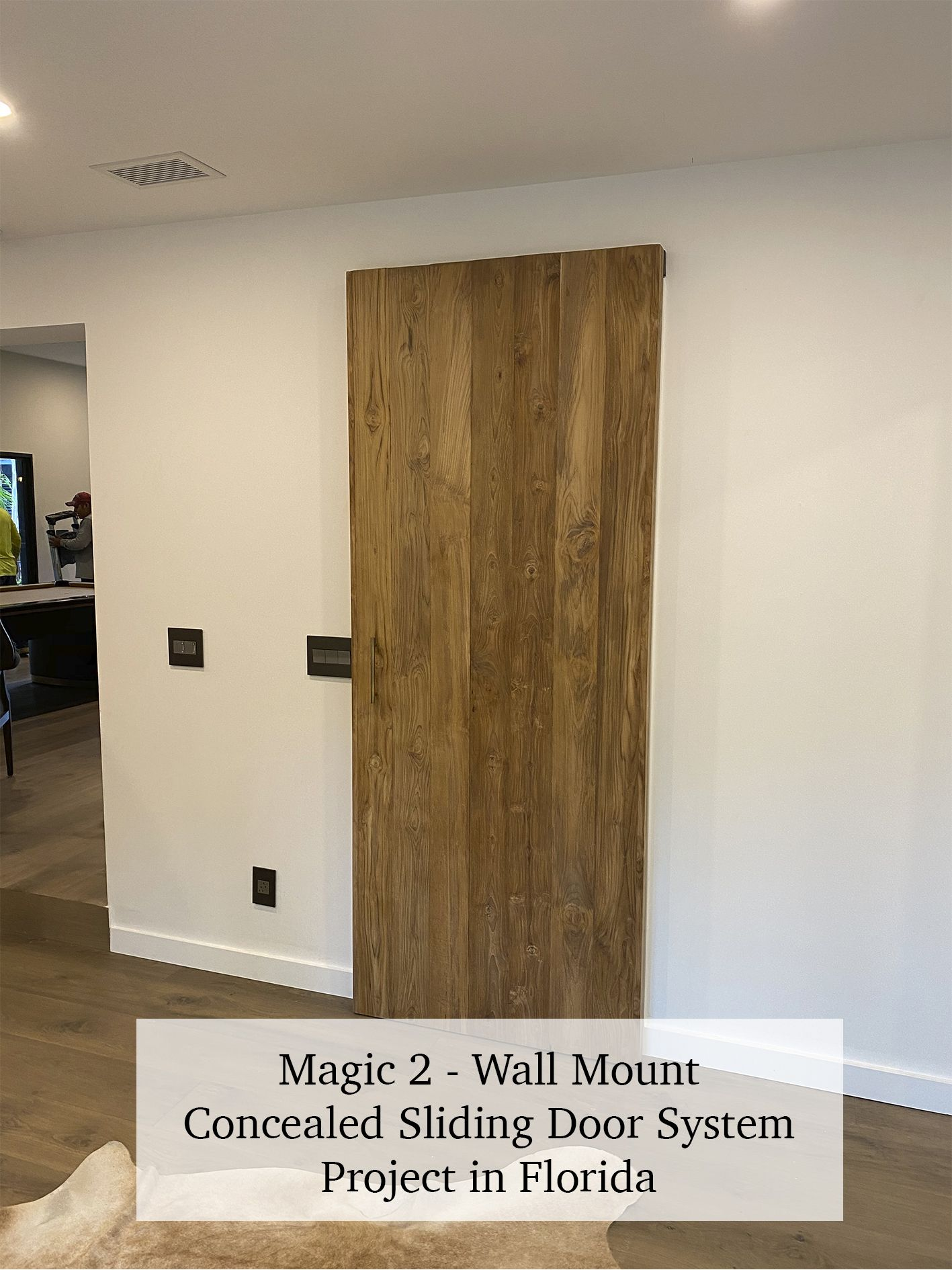 Magic 2 Wall Mount Concealed Sliding System For Wood Doors Made In Italy In 2020 Wood Doors Sliding Door Systems Doors