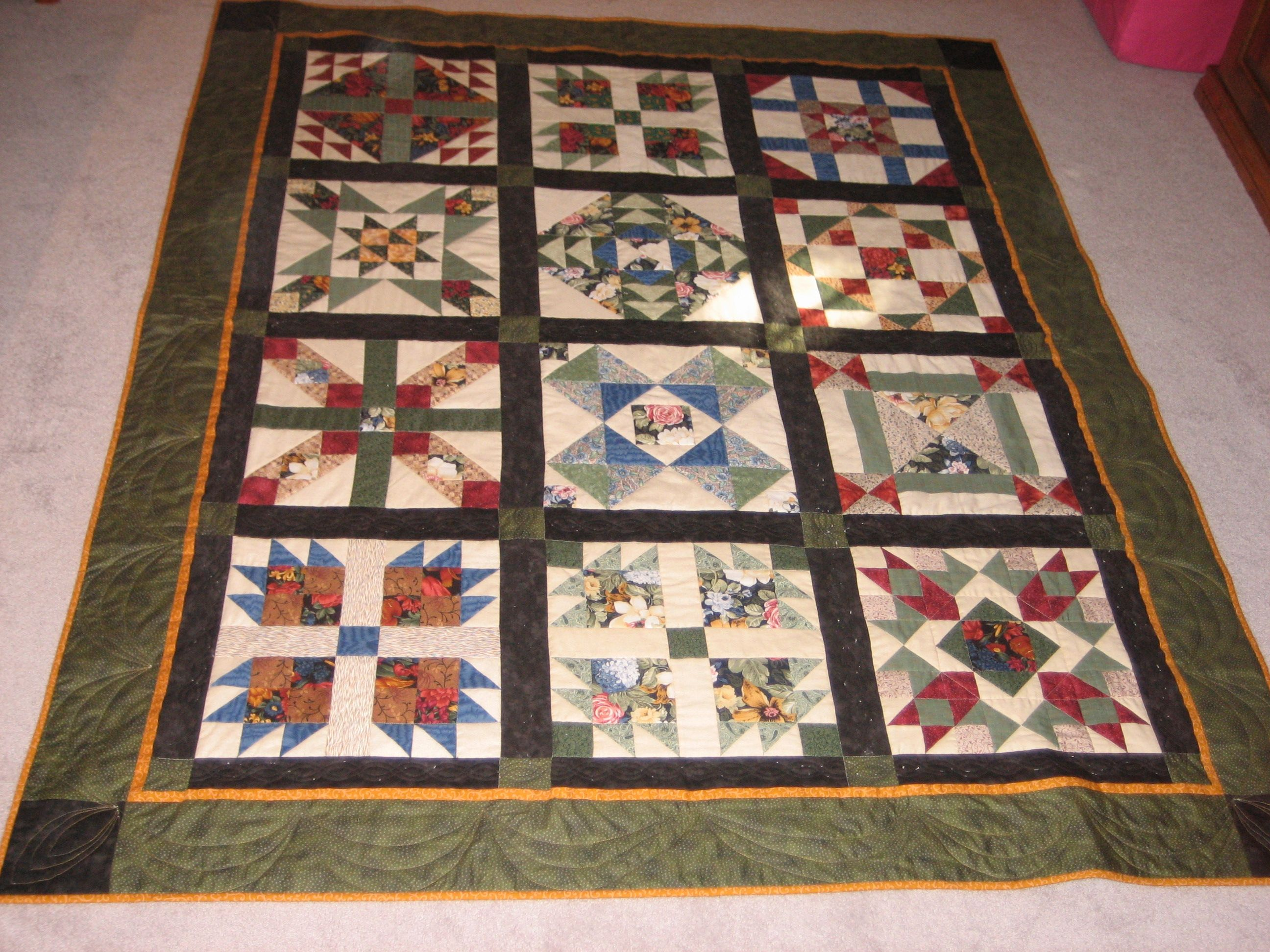 Sampler Quilt From All About Quilts Walpole Ma Miscellaneous