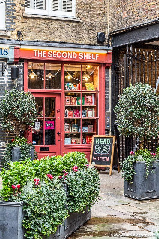 Bookshop in Soho, London