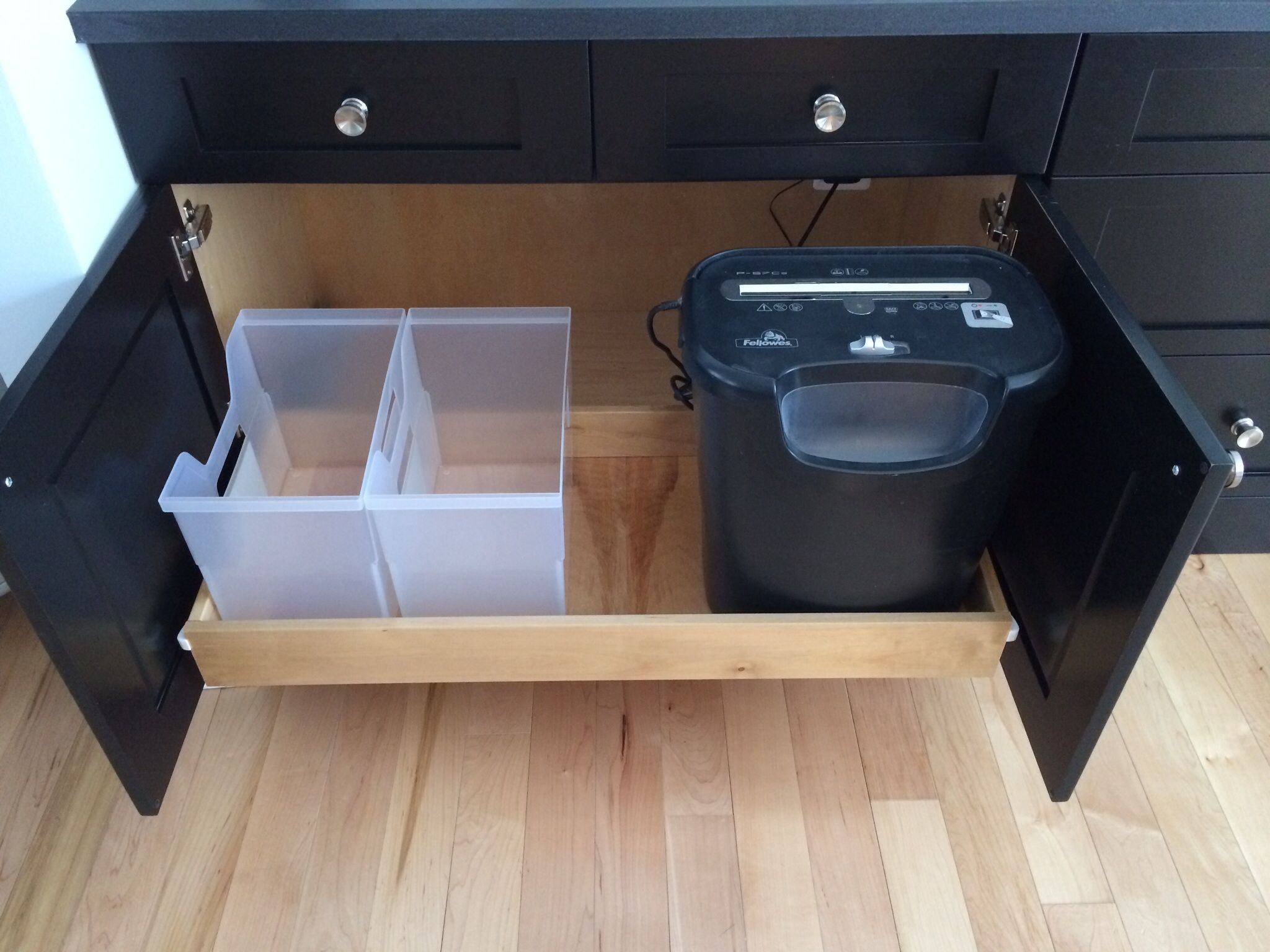 Trash Pullout Cabinet For Shredder Google Search Entry