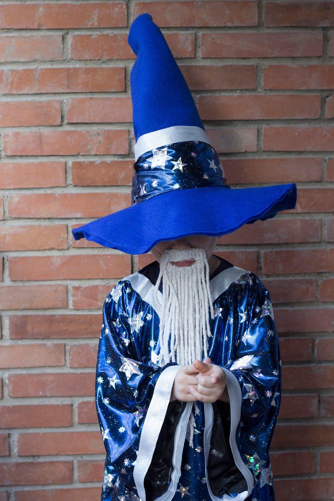 5d04bfdbe Disfraz de mago DIY | Disfraz de mago Merlín | Disfraz hechicera ...
