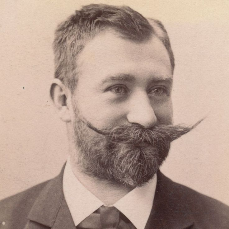 Victorian mustache men | Antique Victorian CDV Photo, Handsome Man ...