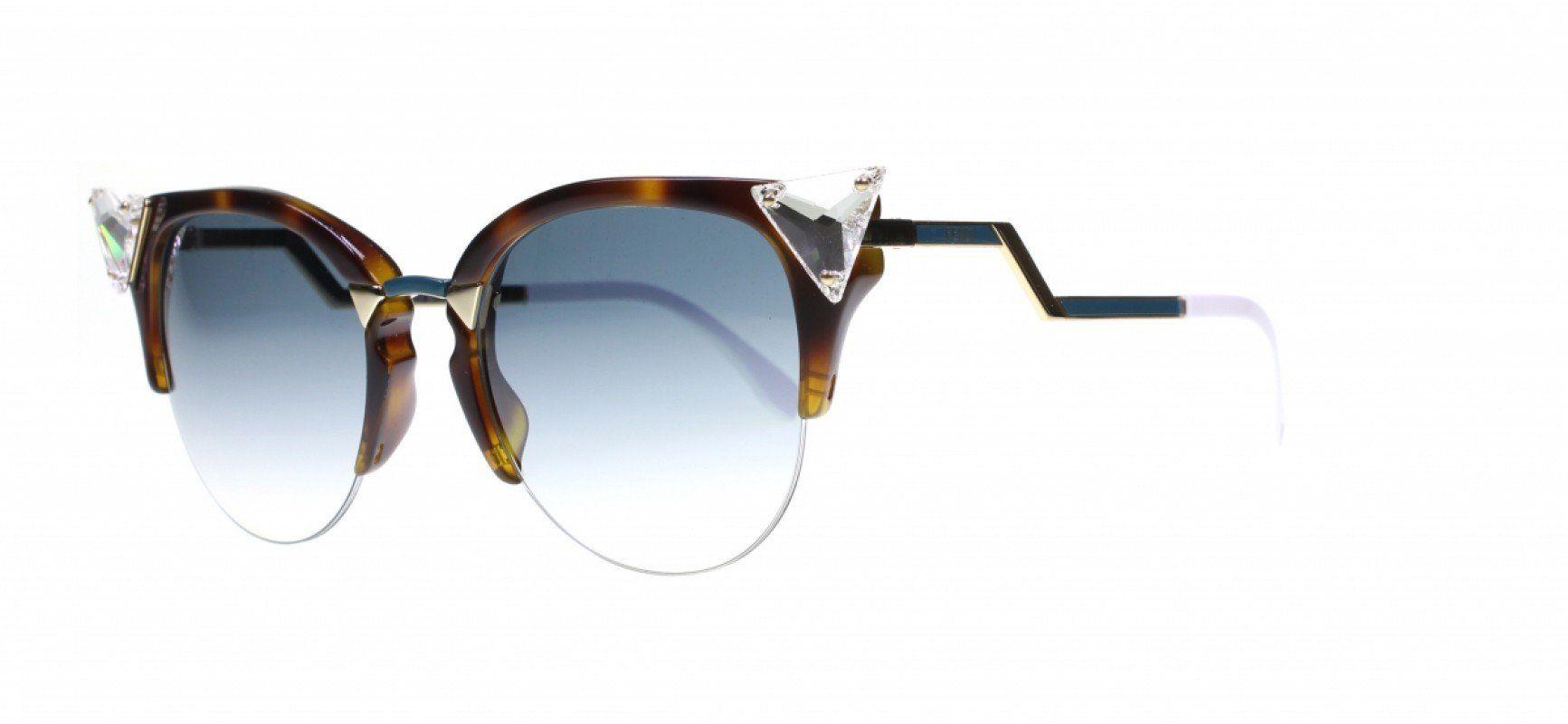 Buy awesome fendi ff0041 s vio havana gold sunglasses