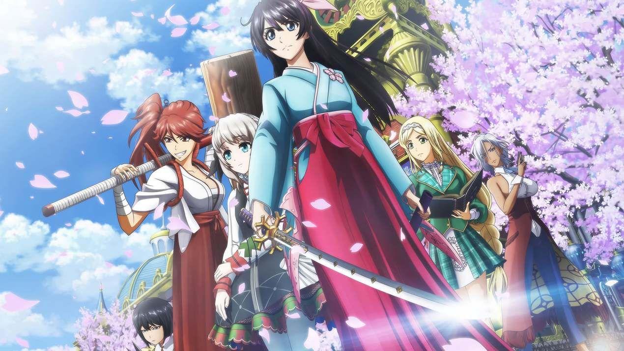 Sakura Wars The Animation Episode 1 in 2020 Sakura wars