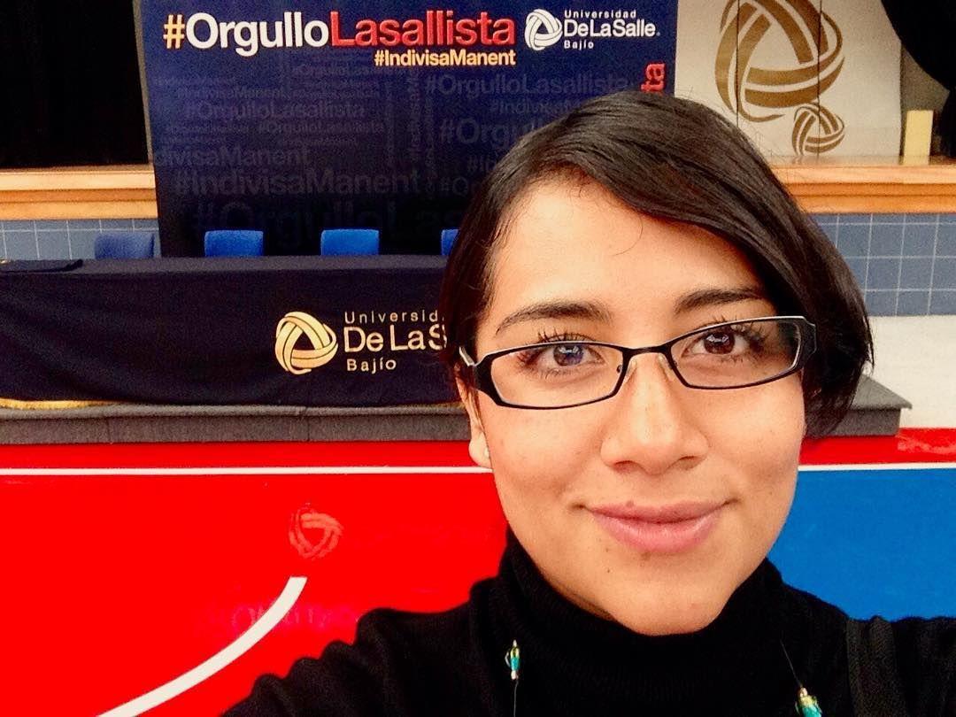 10 de noviembre del 2014 :) fue mi primer día de trabajo en la #UniversidadDeLaSalleBajío Qué rápido pasa el tiempo! #soydelasallebajío #orgullodelasalle
