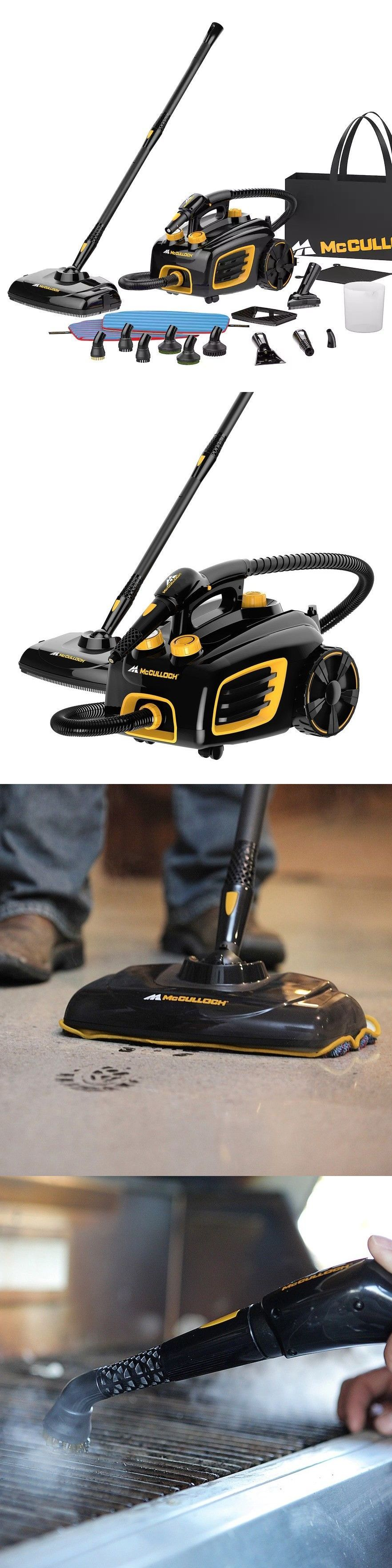Details About Mcculloch Canister Deep Clean Carpet Floor Steam Cleaner System Mc1375 Carpet Steamers Steam Cleaners Professional Steamer