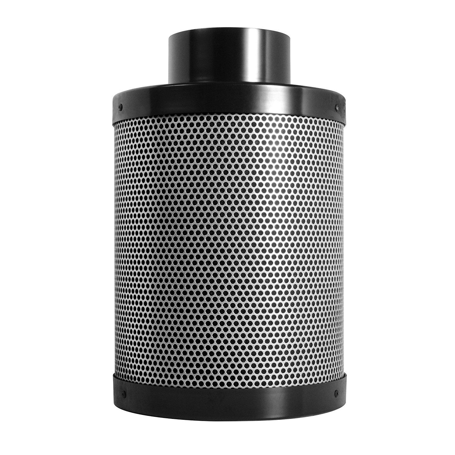 Primegarden 4 Inch Inline Fan Carbon Air Filter Ducting Combo Pre Filter Included For Hydroponics Indoor Grow Tent Ventilation System 4 Fan Filter Kit Inline Fan Growing Plants Indoors Grow Tent