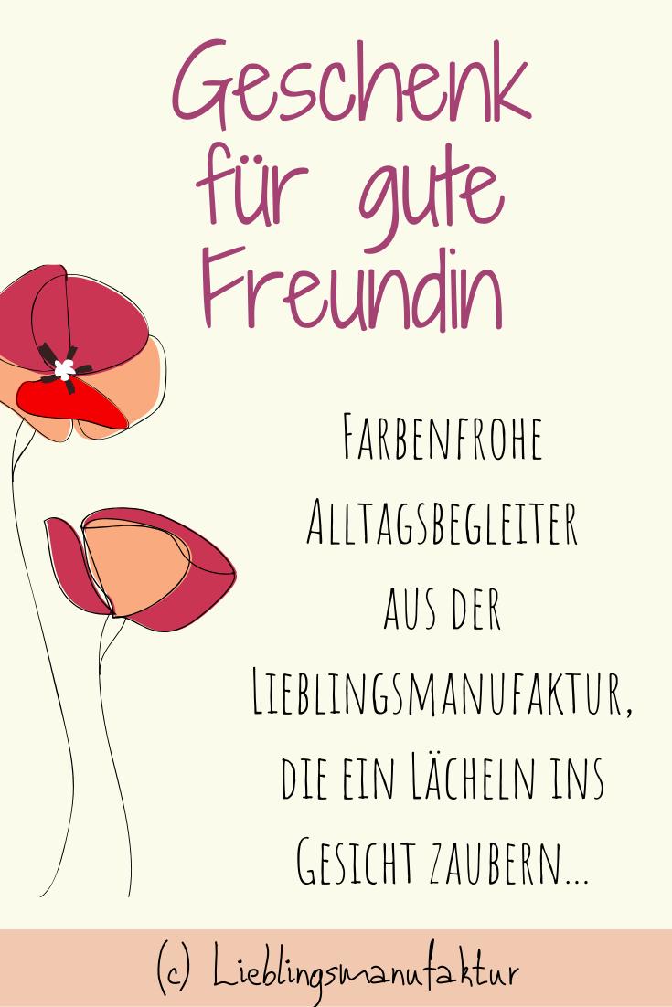 Geschenk gute Freundin: Kleine Geschenke | Danke sagen