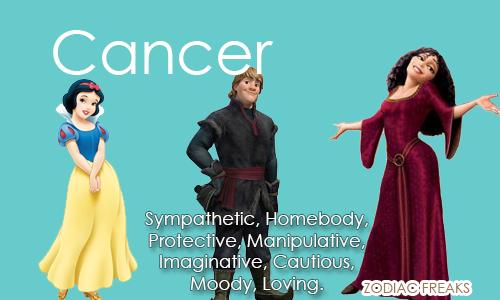 Cancer - heroine, hero, villain