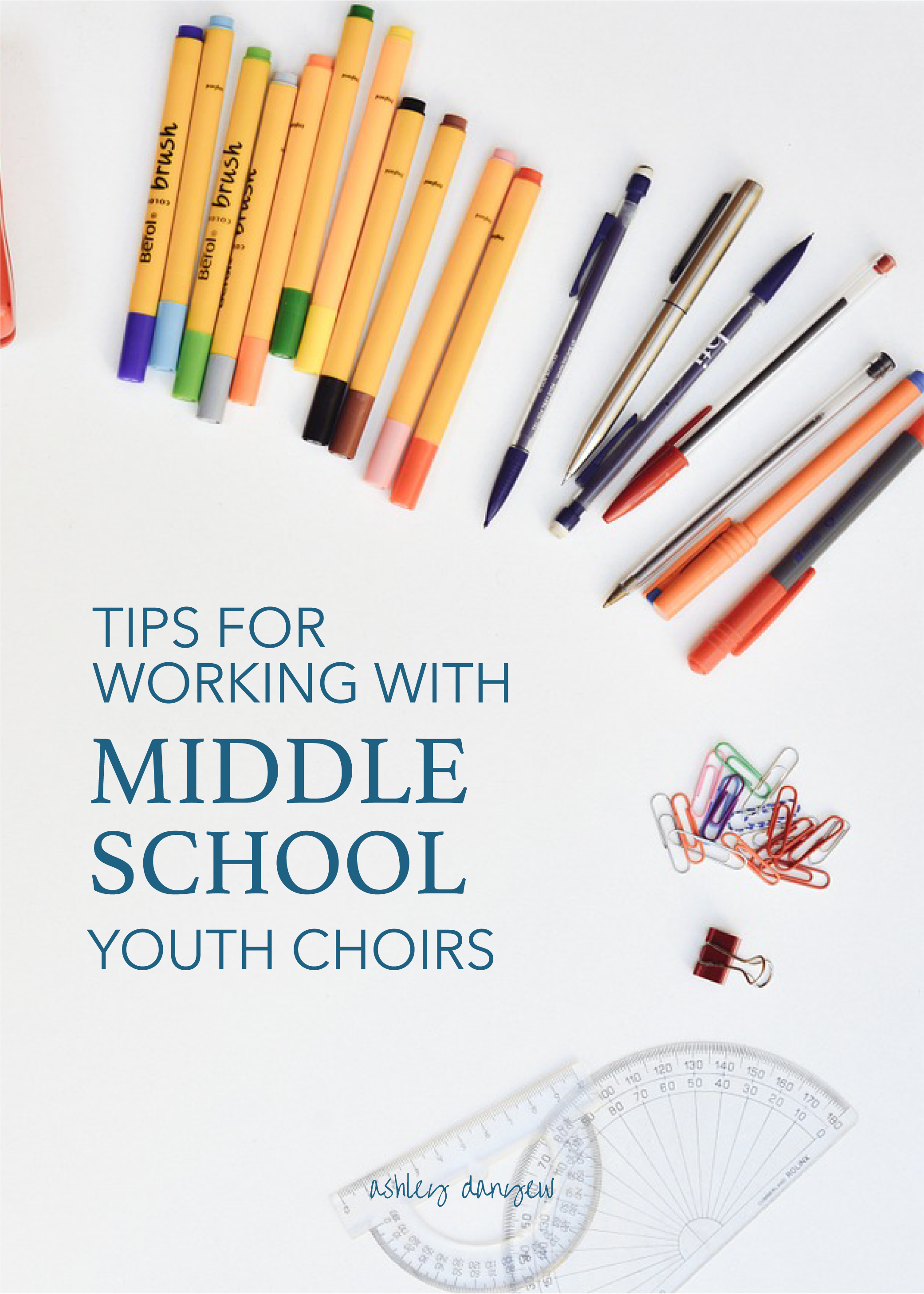 Tips For Working With Middle School Youth Choirs