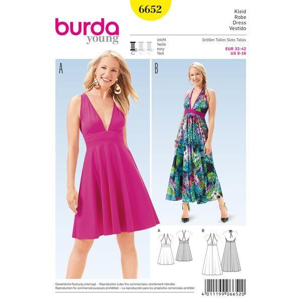 Robe, Burda 6652