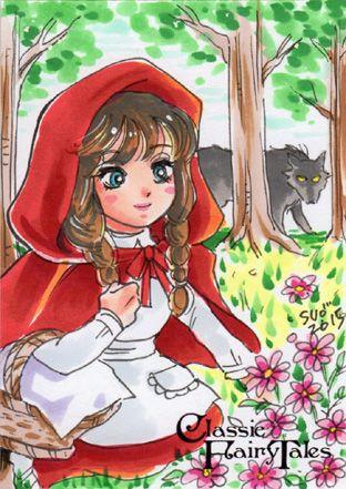 Little Red Riding Hood by Sanna Umemoto [©2015]