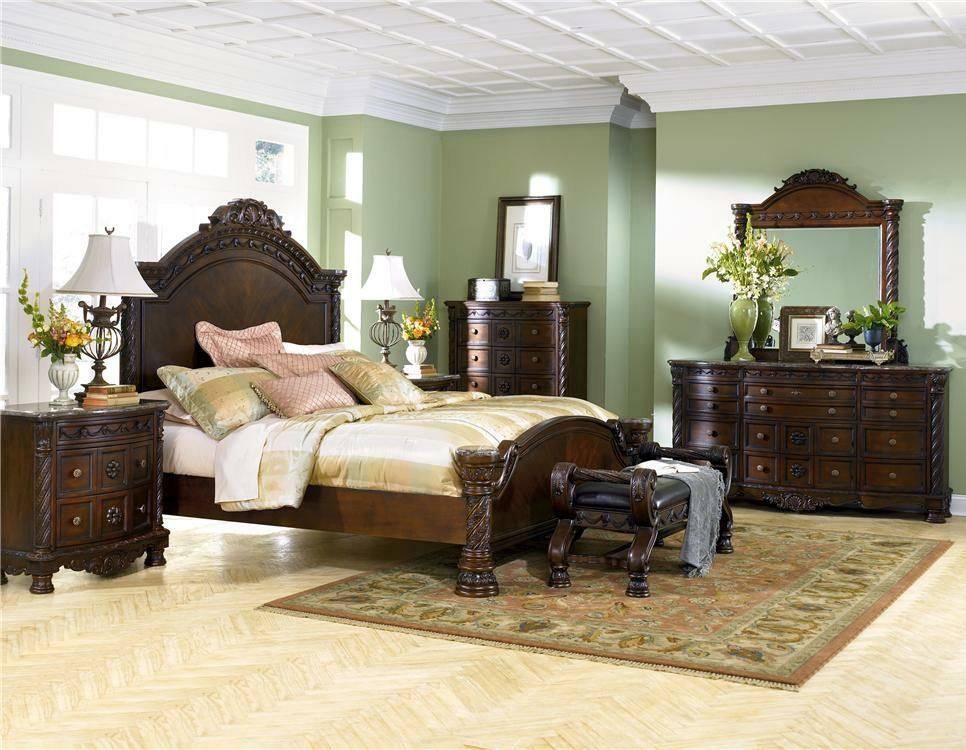 North Shore 4 Piece Bedroom Group by Millennium Ashley