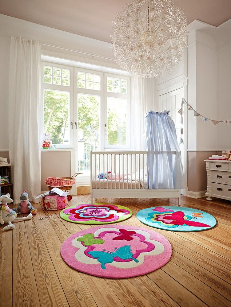 Butterfly Party Tapis Deco Tapis Rose Tapis Enfant