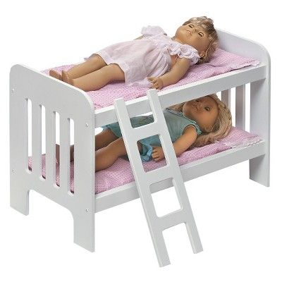 Badger Basket Doll Bunk Beds With Ladder Products Dolls Doll