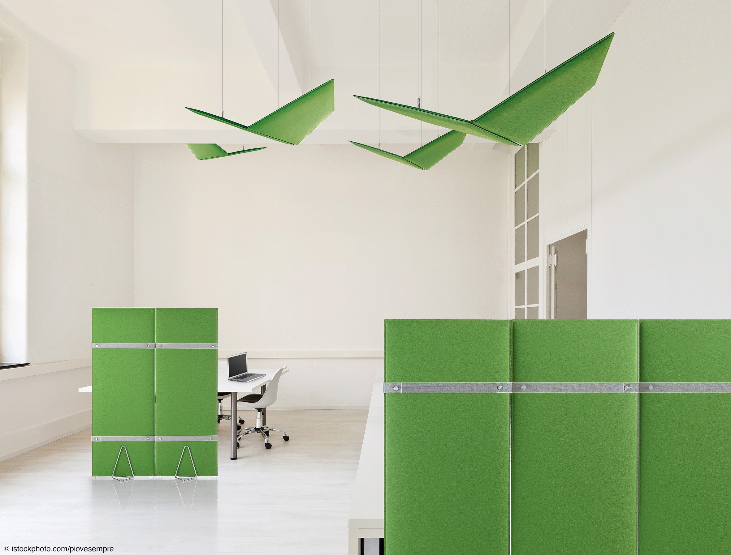 Put A Touch Of Color Into Your Minimalist Commercial Office With  Strategically Placed Acoustic Furniture Panels. These Soft, Sound Absorbing  Panels Are ...