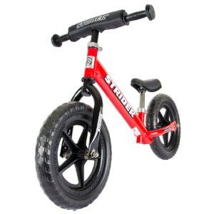Strider Ages 18 Months to 3 Years 12 Classic No-Pedal Balance Bike Pink G