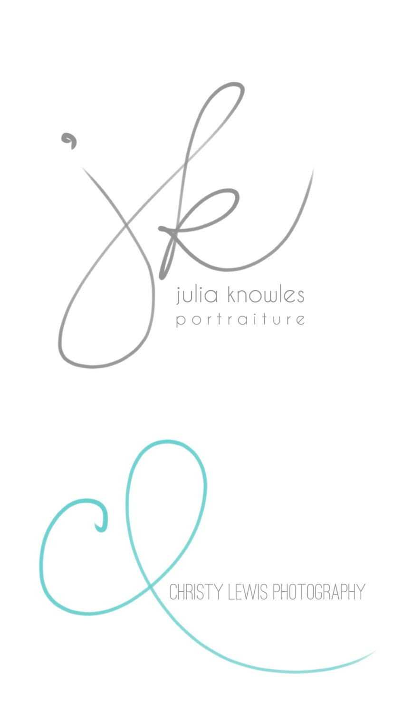 Handwritten Initials, Custom Logo, photoshop brush, transparent ...