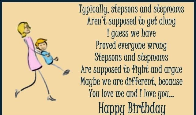 Happy Birthday Wishes For Step Son | birthday card