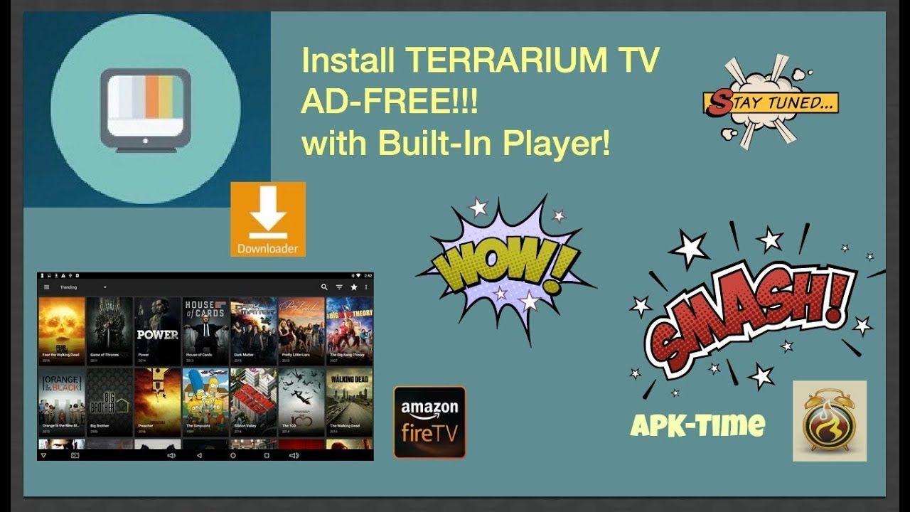 TERRARIUM TV - NO ADS !! & Built-In Player  + more APKs