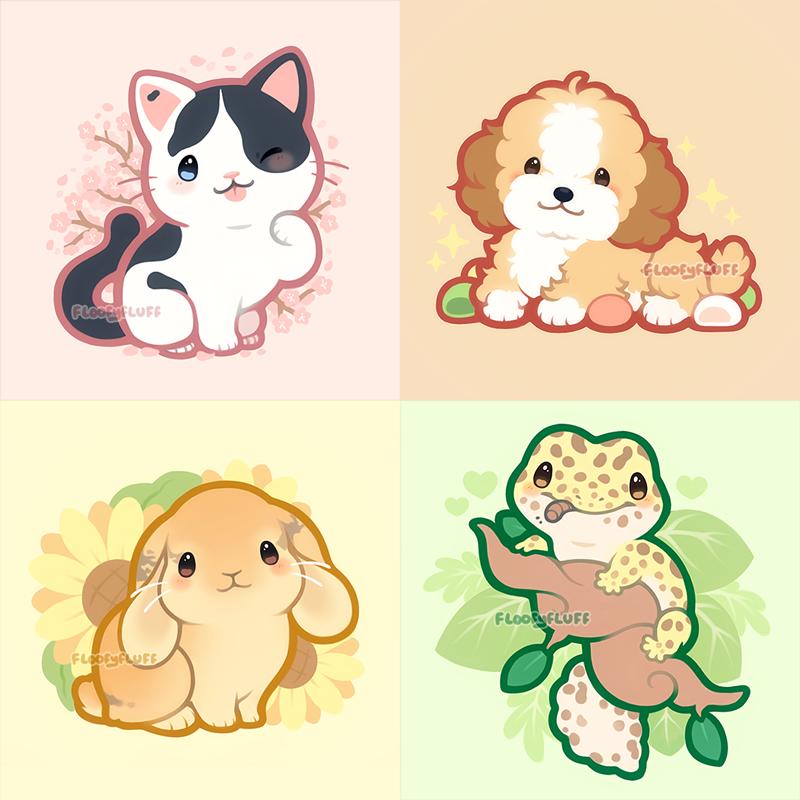 Ida On Twitter Cute Kawaii Animals Cute Animal Drawings Kawaii Cute Kawaii Drawings