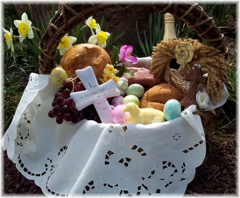 Polish easter basket traditional recipes cwikla and babka bread polish easter basket traditional recipes cwikla and babka bread by soapsmith negle Gallery