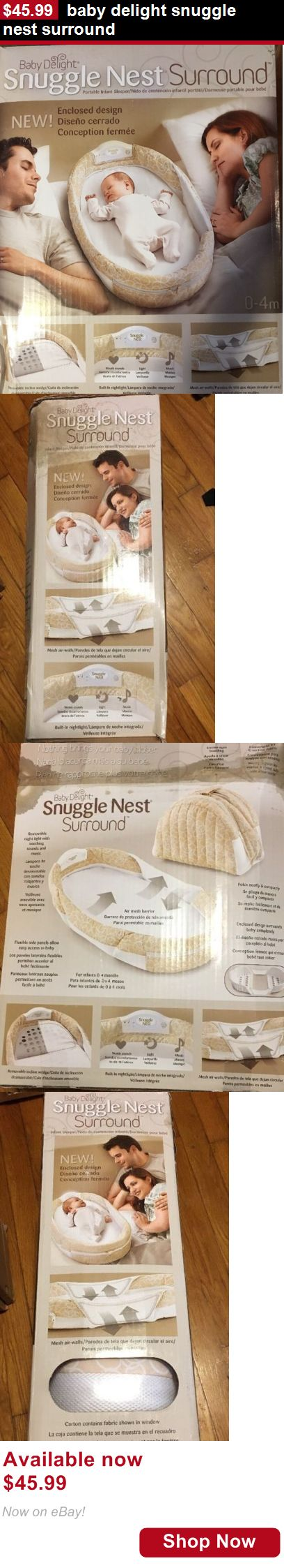 Baby Co-Sleepers: Baby Delight Snuggle Nest Surround BUY IT NOW ONLY: $45.99