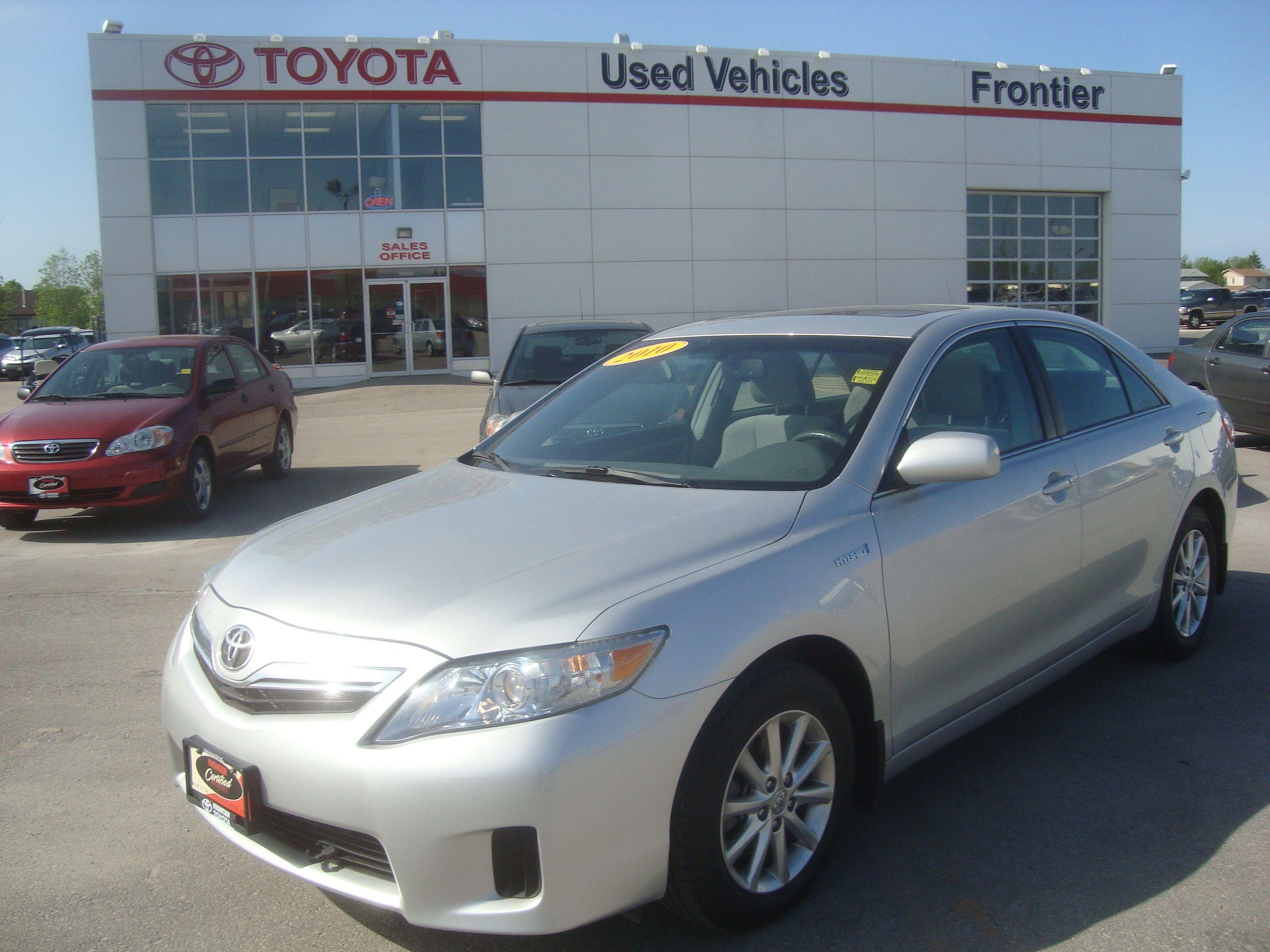 Used 2010 Toyota Camry Hybrid For Sale Winnipeg MB