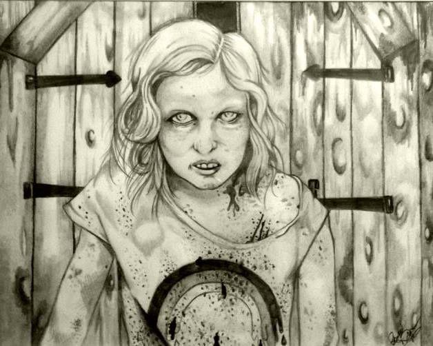 The Walking Dead Zombie Sophia