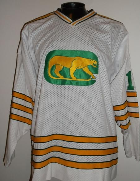 0f537468dd1 Chicago Cougars vintage hockey jersey 1973-74 WHA World Hockey Association  made of game weight double knit or mesh fabric with beautiful embroidered  front ...