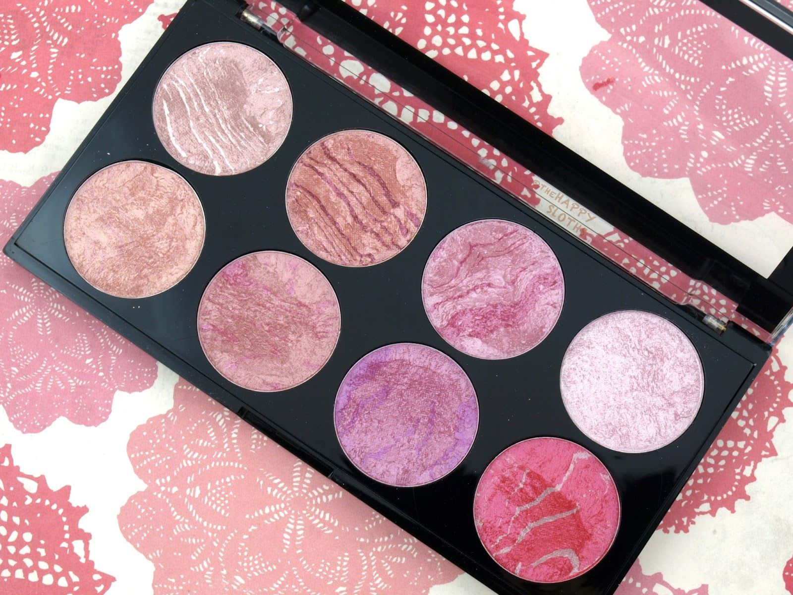 Makeup Revolution London Blush Queen Blush Palette Review