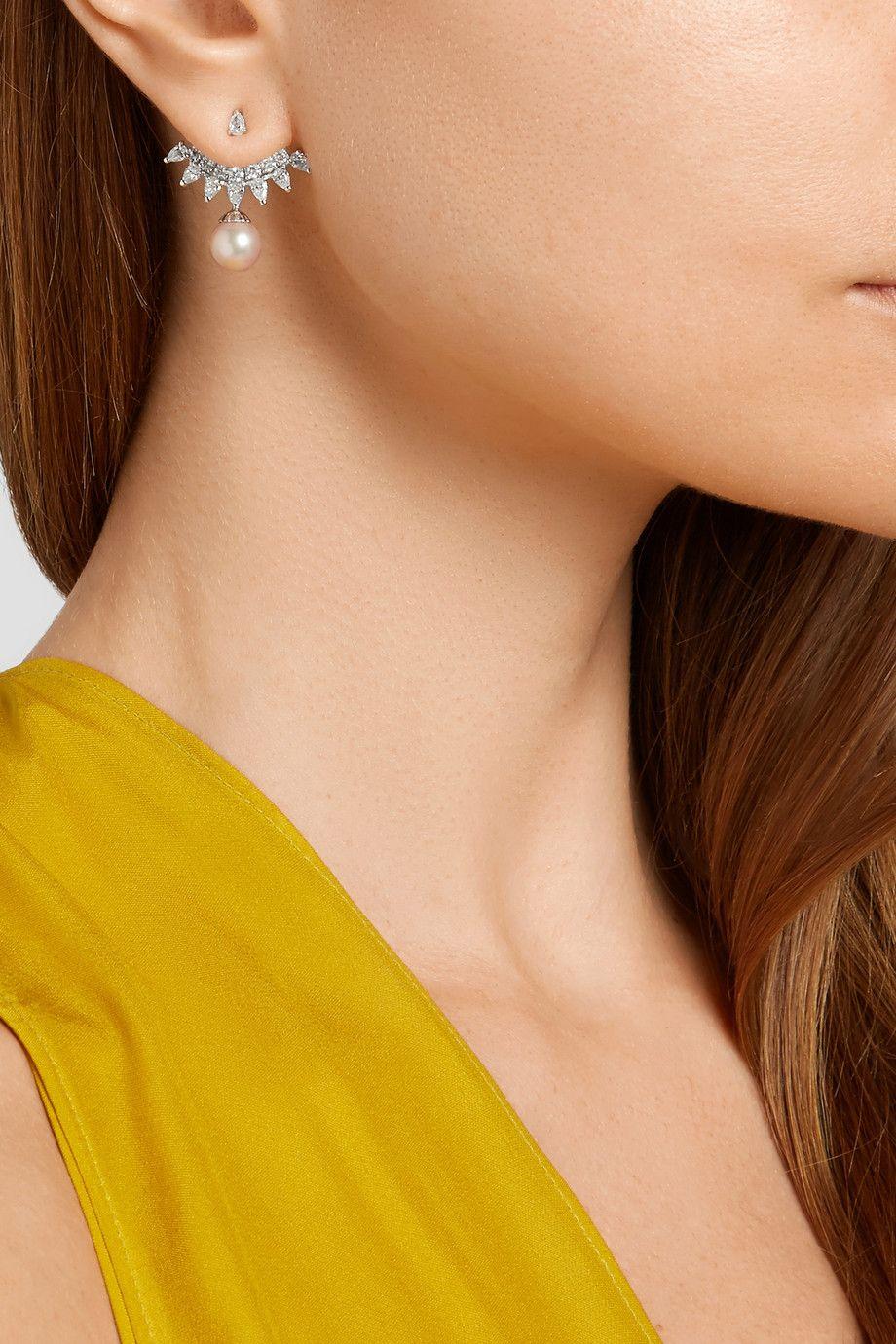 18-karat Gold Turquoise Earring - one size Yvonne L KAZDl9mw