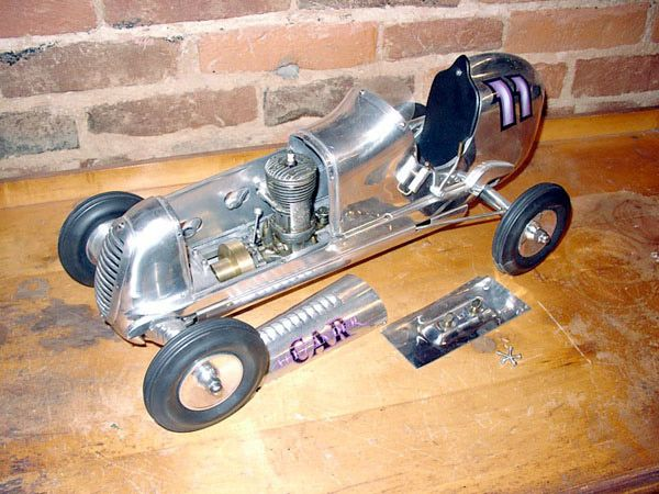 Vintage Miniature Racing Cars - Tether Cars - Dennymite, Bunch ...