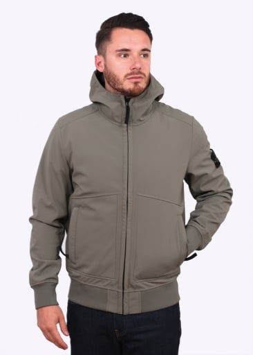 0a69449f Stone Island Soft Shell-R Jacket - Sage | men tops in 2019 | Stone ...